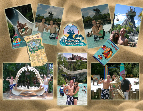 Typhoon Lagoon Layout
