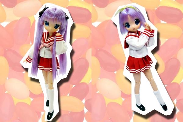 らき☆すた_かがみ_つかさ_doll2