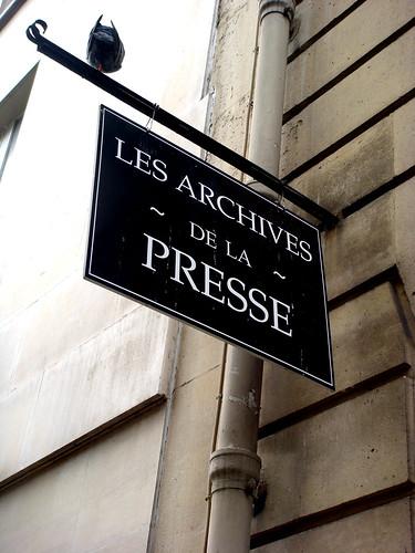 archives de la presse