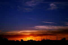 sunset (tjpanfil) Tags: sunset color clouds canon landscape desert kitlens dpp naturesfinest canonefs1855mmf3556 xti canon400d photofaceoffwinner elitephotography pfogold freewarephotoeditors