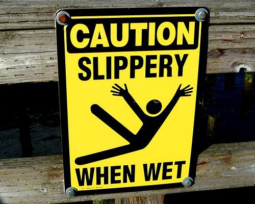 Caution: Jazz Hands When Wet!