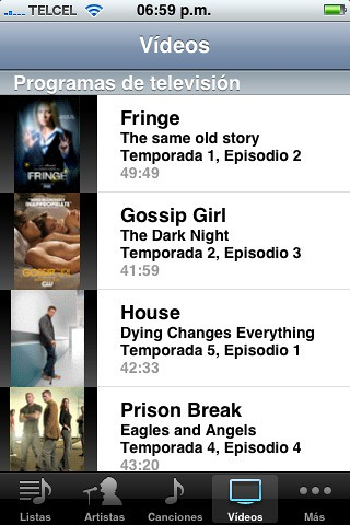 Top iTunes Tv Shows