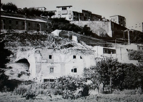 Paseo del Miradero (Toledo) desde la zona del Granadal.
