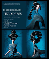 Avant Garde  NAHA (BABAK photography) Tags: men magazine french photography photographer dress head collection nicholas babak awards naha fashionshoot hairstyles styling headdress wwwbabakca babakca hairshoot photographerbabak genluc texturehair babaked avantgardhairphoto
