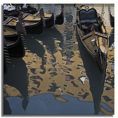 Abstract with Gondolas