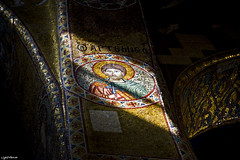 Gloria in excelsis Deo ( LightMirror) Tags: italy church italia raw mosaic mosaico chiesa sicily palermo sicilia italians martorana lightmirror nikond700