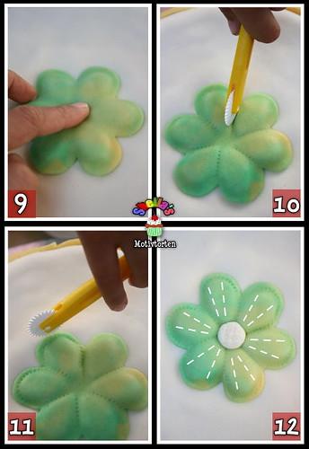 3D Fondant Flower [Step 9-12]