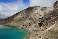 Tongariro lake (Michael Sale) Tags: newzealand rocks view northisland tongariro harsh