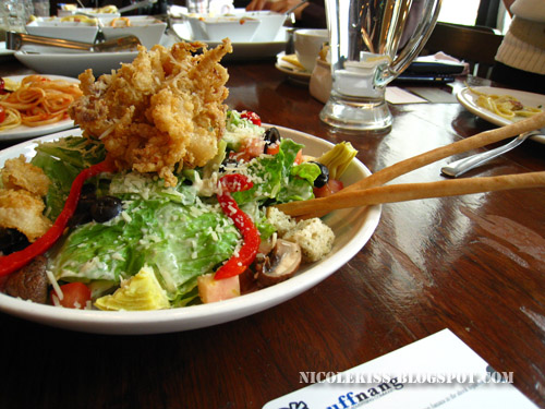 calamari ceaser salad