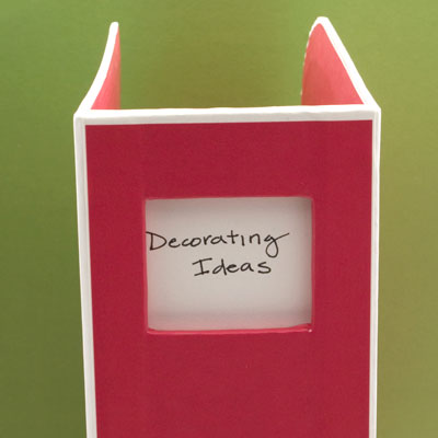 semikolon decorating ideas