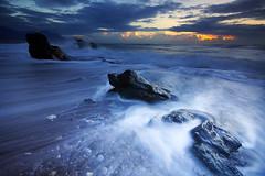 (nodie26) Tags: ocean sea water sunrise tour taiwan  hualien