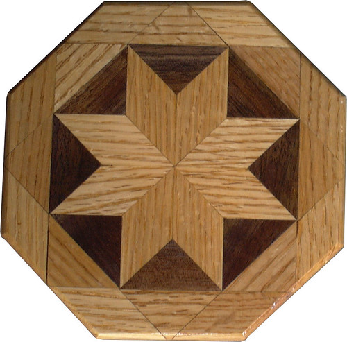 Oak and Walnut Trivet