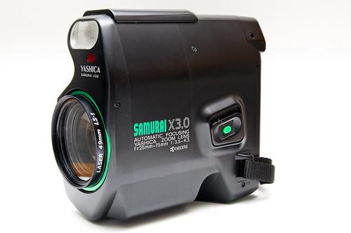 Yashica Samurai X3 0 Camera Wiki Org The Free Camera