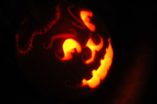 The Final Carved Pumpkin