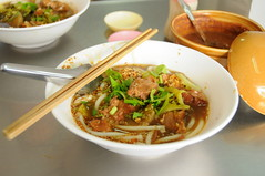 Stewed Pork Noodles, Thanon Mahannop