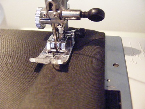 Hemming pants