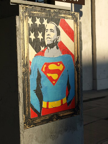 Obama Street Art from GiaMarie on Flickr