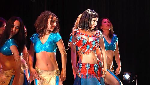 Cleopatra dance