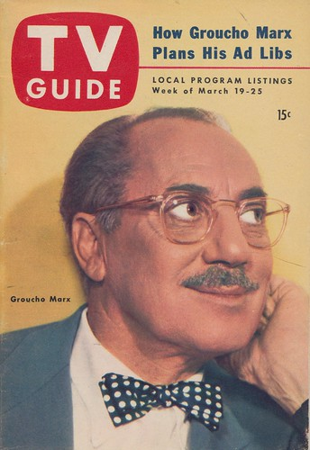 TV Guide March 19-25, 1954 - Groucho Marx