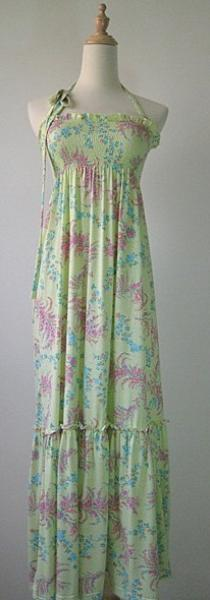 Maxi engagement dress