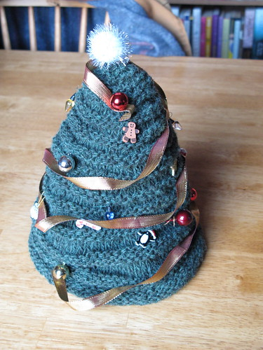 Christmas Tree Hat - Decorated