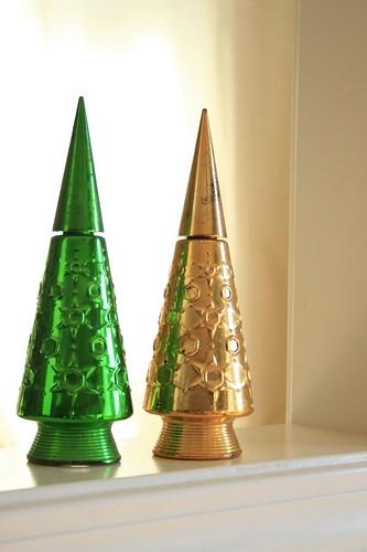 Christmas Tree perfume bottles
