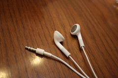 Headphone of iPod attachment