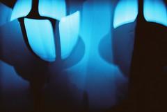 lamp posts (bubblyness) Tags: lomo crossprocessed fujireala holga135