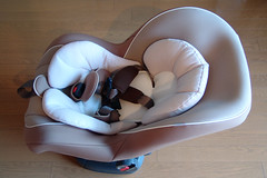 Child safety seat for my daughter. by MIKI Yoshihito ( ´ï½¥Ï‰ï½¥), on Flickr