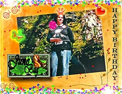 HAPPY BIRTHDAY JUNE BUG! (fantartsy JJ *2013 year of LOVE!*) Tags: birthday friends blessings happybirthday hugs greetingcard lovecelebrations