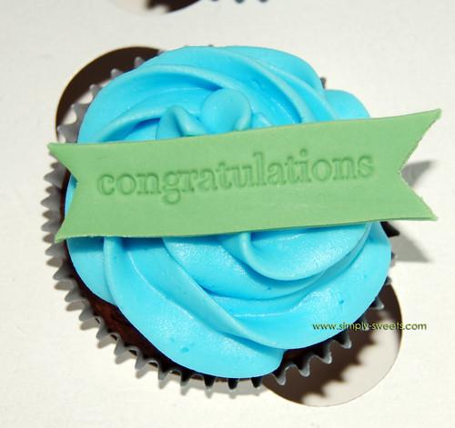 congratulations cupcake