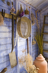 Scenes from a potting shed (fotofacade) Tags: heritage gardening victorian pottingshed harlowcarrharlowcarr