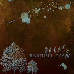 Beautiful Day (usbaldo ochoa) Tags: texture textura beautiful arbol design day graphic designer grafik personas squareformat hermoso typo da diseo grfico felz   graphique  manchas    dessein formatocuadrado