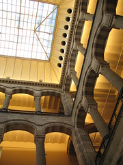 Powerful Architecture (blind_donkey) Tags: city travel light sky urban building window dutch amsterdam shop architecture modern buildings mall design 19thcentury architect shoppingmall cannon shoppingcenter neogothic interiordesign magnaplaza buildingdesign a640 unusualviewsperspectives detailessculpturalandaechitecturaltreasures petrusjh
