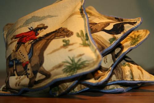 cowboy beanbags