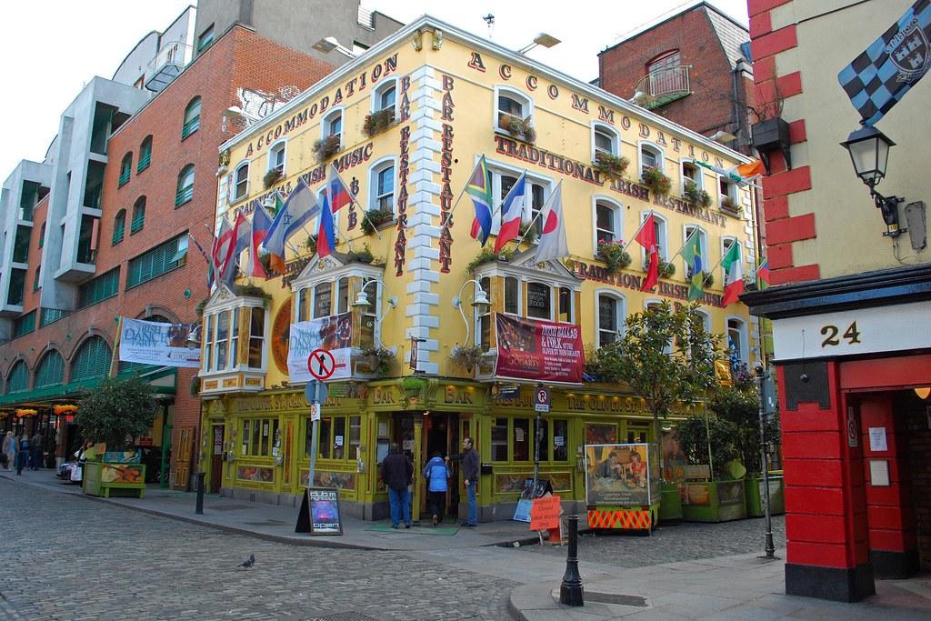 Oliver St John Gogarty, Dublin Sehenswürdigkeiten