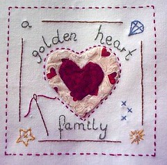 Beas Capricorn Quilts -heart .