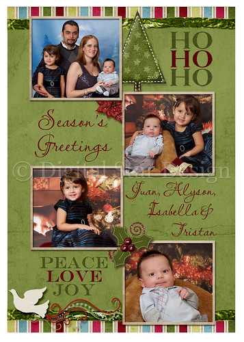 Christmas Card example, 5x7, full-size