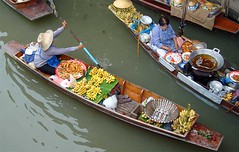 floating market near Bangkok