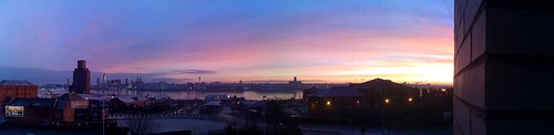 Sunrise over Liverpool by me with Pano!