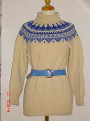 Rollneck icelandic wool sweater (Mytwist) Tags: wool sweater turtleneck raglan icelandic lopi peysa
