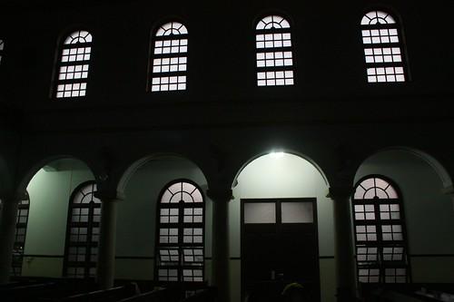 南神禮拜堂內