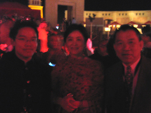 With Brigitte Lin, Dubai Film Fest 2008 Closing Ceremony
