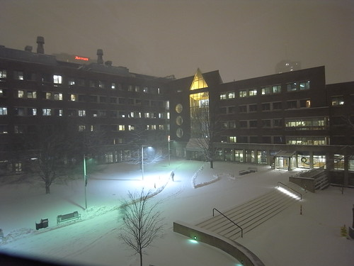 Snow in MIT