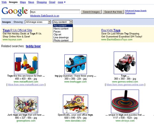 Google Images: Search By Style