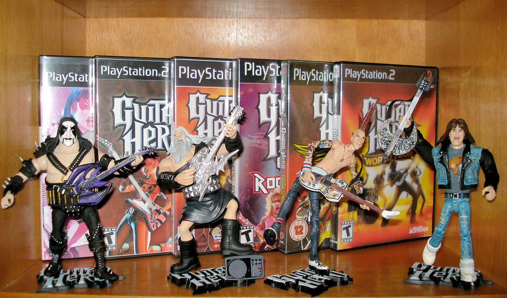 Guitar Hero Figures by McFarlane Toys