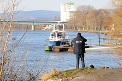 Personenrettung aus dem Rhein 26.12.08