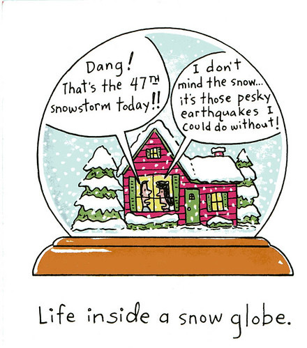 snowglobe by you.