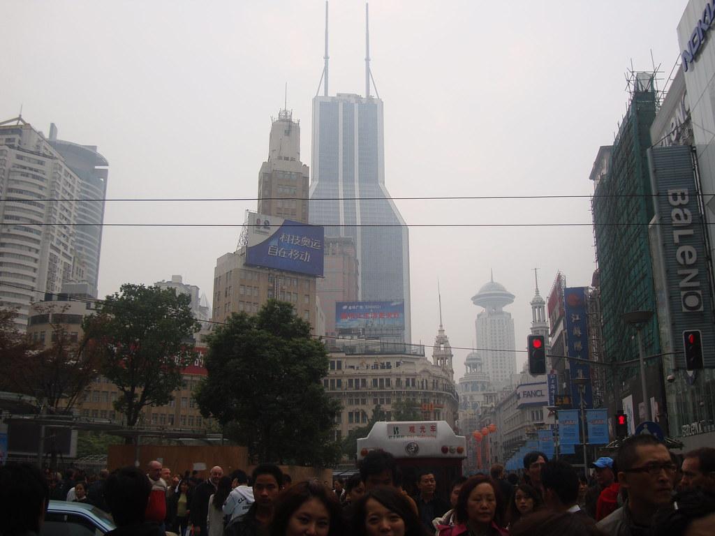View from Nanjing Lu