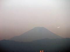 富士山 稲毛海岸より